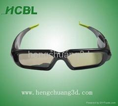 3D TV active  shutter glasses