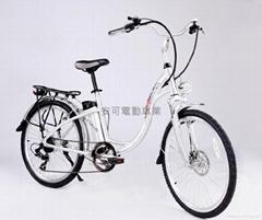 电动辅助自行车-LADY