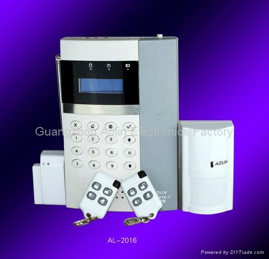 AOLIN Wireless LCD Display Home Burglar Alarm system 1