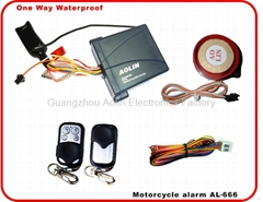 Waterproof One way Motorcycle Alarm