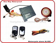 Waterproof One way Motorcycle Alarm