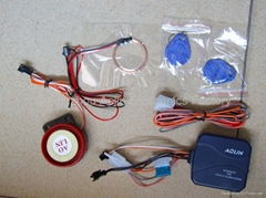 ID Card Motorcycle Alarm System