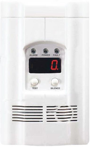 带LED气体浓度显示的一氧化碳气体探测器 1
