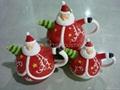 陶瓷系列陶瓷圣诞老人
