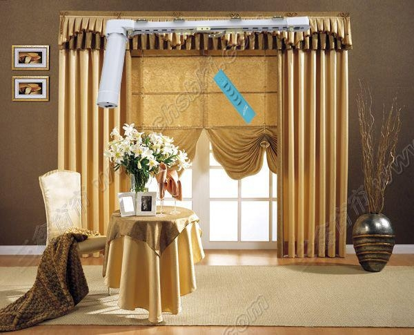 Home Automation Remote Control Motorized Curtain
