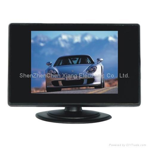 7-inch LCD monitor for car, security areas 1