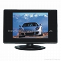 7-inch LCD monitor for car, security areas