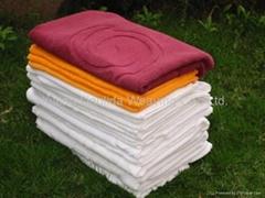 100% cotton jacquard hotel towel