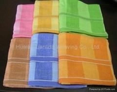 纯棉素色家用浴巾