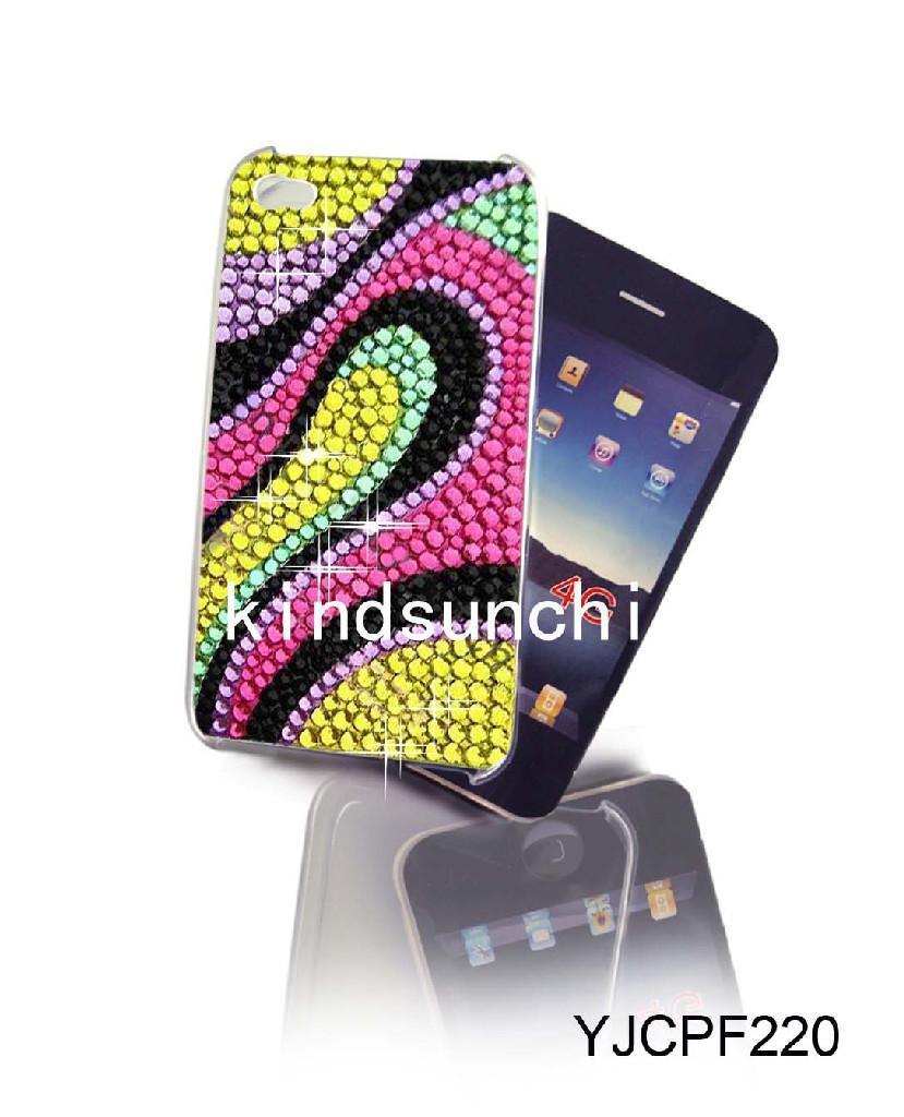 Crystal Phone Cover Yjip220 Kindsun China Mobile Phone