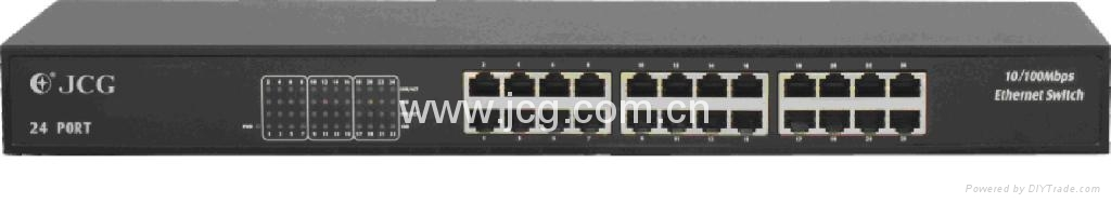 24-Port 10/100Mbps rack mount Switch 1