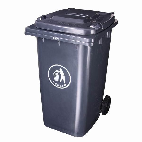 240l福州环卫垃圾桶绿色环保型带脚踏