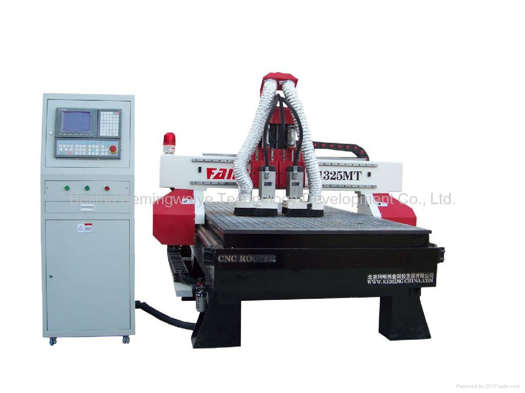 Double Spindle CNC Router 1