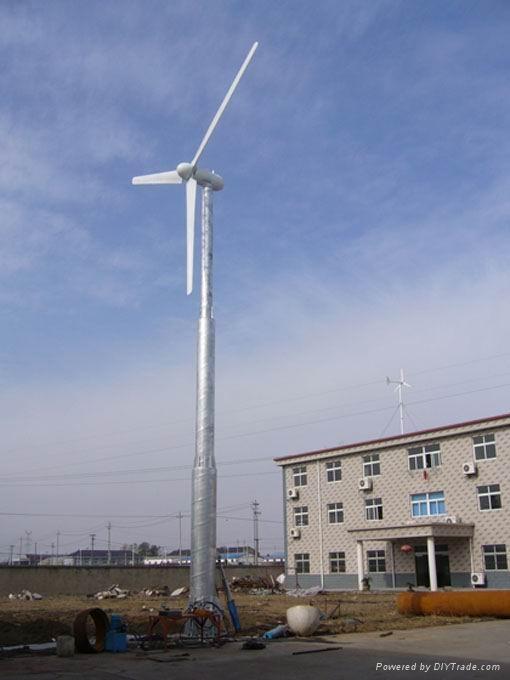 Horizontal axis wind turbine 1