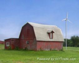 Horizontal axis wind turbine 4