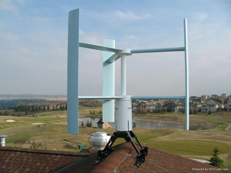 VH model Vertical Axis Wind Turbine 1