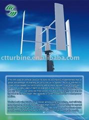 green energy system-vertical wind turbine
