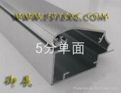 5分单面超薄灯箱铝型材
