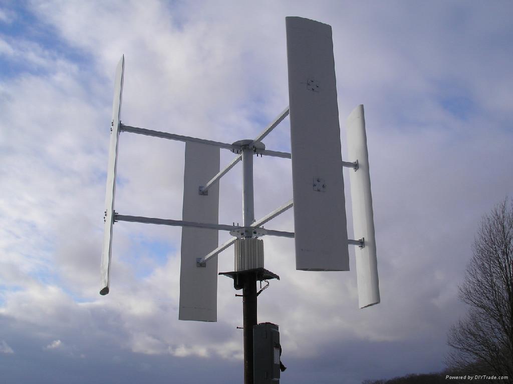 Vertical wind turbine ISO CE - 500w