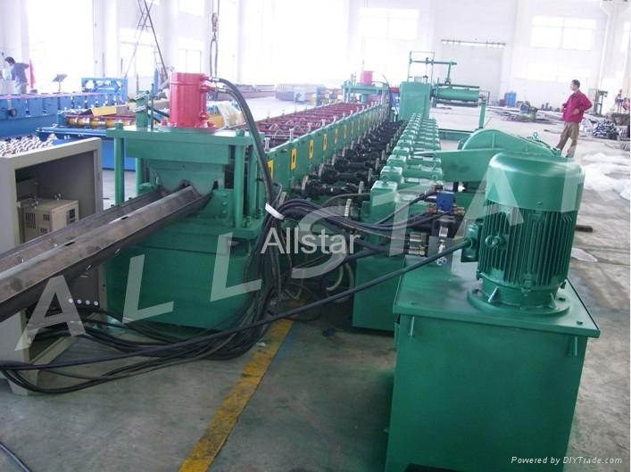 Highway Guardrail Roll Forming Machine  2
