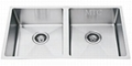 Double Bowl Stainless Steel Undermount
