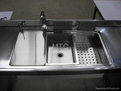 Multi-functional Compound Stainless Steel Sinks