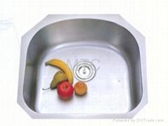 European Style Single Bowl Stainless Steel Undermount We Bar &Prep Kitchen Sinks