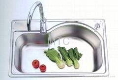 Stainless Steel Single Bowl Topmount Kitchen Sinks