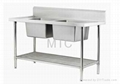 Stainless Steel Commercial Kitchen Sinks 1