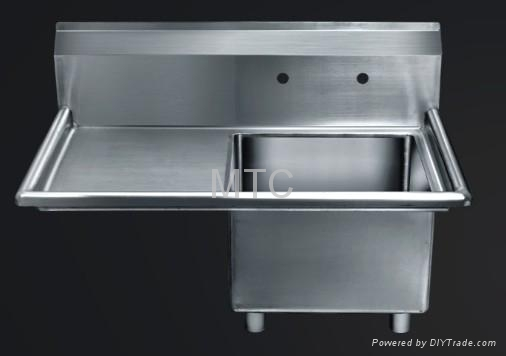Stainless Steel Commercial Kitchen Sinks - MTC (China Manufacturer ...