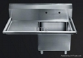 Stainless Steel Commercial Kitchen Sinks 5