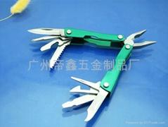 钥匙圈款折合式工具钳
