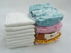 Minky cloth diaper