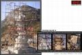 大型寺廟花崗岩佛像石雕