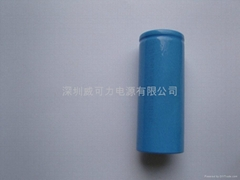 长寿命磷酸铁锂圆柱形锂电池26650-2200mah锂离子充