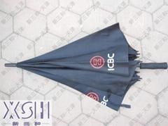工商銀行天津分行廣告雨傘