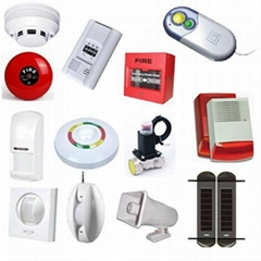 Siren Strobe Alarm Bell and Security Kits