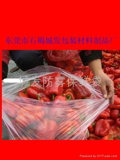 广西荔浦PE防雾保鲜袋 3