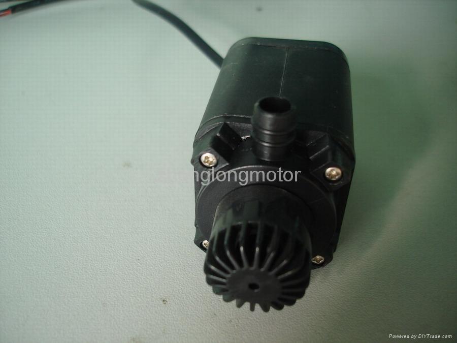 不用电就能工作的无刷直流微型水泵 2