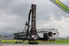 mcobeam 美國cree t6 SF-D907 強光手電
