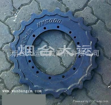 大宇挖掘机驱动齿DH80 1