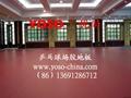 乒乓球場專用地膠墊 1