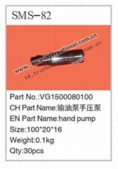 howo truck parts- hand pump  VG1500080100