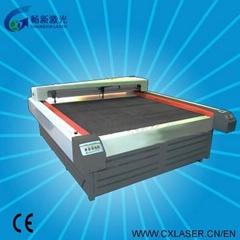 Fabrics textile cotton Laser Cutting Engraving Machine Cx180160