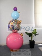 玻璃鋼大型聖誕球