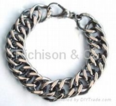 Titanium cowboy chain