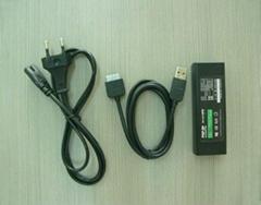 PSP go電源適配器+USB充電數據線