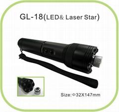 GL-18 LED & Star laser pointer