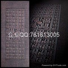 百分百純銅雕藝朮門板