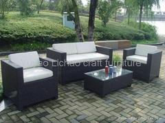 outdoor PE rattan furniture